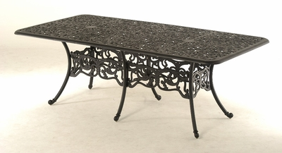 The Paxton Collection Commercial Cast Aluminum Rectangle Dining Table
