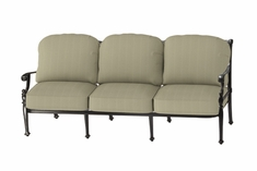 The Roza Collection Commercial Cast Aluminum Sofa
