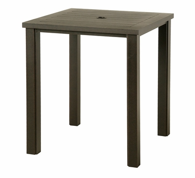 """The Sephora Collection Commercial Cast Aluminum 36"""" Square Bar Height Table"""
