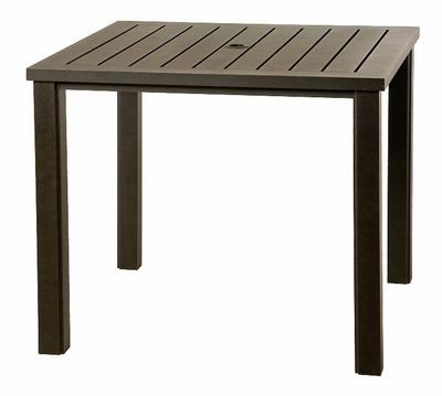 """The Sephora Collection Commercial Cast Aluminum 36"""" Square Counter Height Table"""