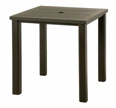 "The Sephora Collection Commercial Cast Aluminum 36"" Square Dining Table"