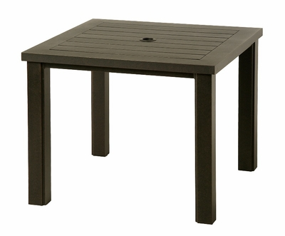 """The Sephora Collection Commercial Cast Aluminum 44"""" Square Dining Table"""