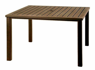 "The Sephora Collection Commercial Cast Aluminum 60"" Square Dining Table"