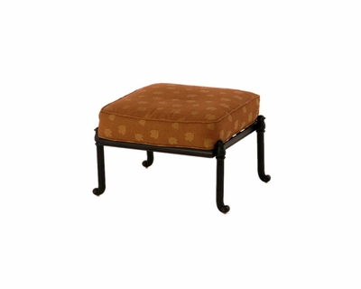 The Sierra Collection Commercial Cast Aluminum Ottoman