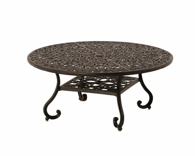 The Sierra Collection Commercial Cast Aluminum Round Dining Table