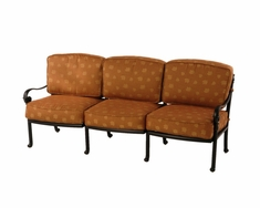 The Sierra Collection Commercial Cast Aluminum Sofa