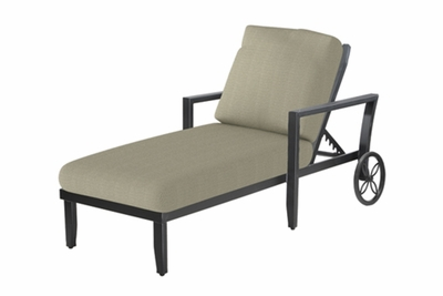 The Skyla Collection Commercial Cast Aluminum Chaise Lounge