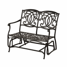 The Tori Collection Commercial Cast Aluminum Double Glider