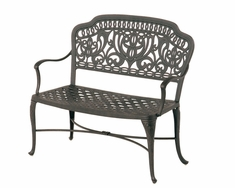 The Tribeca Collection Commercial Cast Aluminum Bench