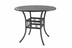 "The Tropica Collection Commercial Cast Aluminum 48"" Round Bar Height Table"