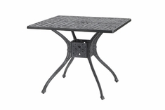 "The Vonte Collection Commercial Cast Aluminum 36"" Square Dining Table"