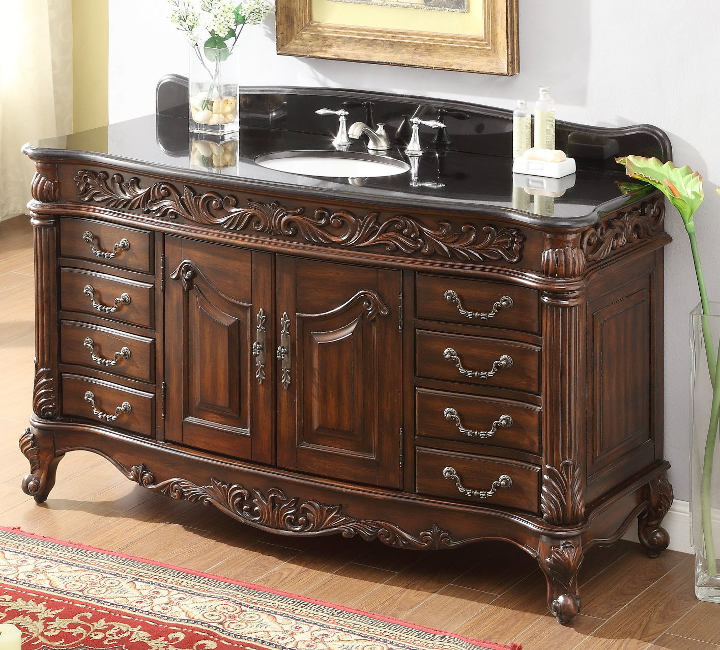 Awesome 60 Inch Double Sink Bathroom Vanity A Realistic Review  Reborn Homes