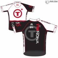 Trinona Triathlon: 'Event Logo' Men's SS Jersey - Voler 'FS Pro' - Black/White