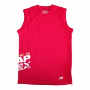 CapTex Tri: Event Men's Sleeveless Tank - New Balance&reg- Cherry Red Tech