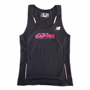 CapTex Tri: Event Women's Singlet Tank - New Balance&reg- Black Tech