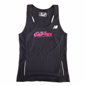 CapTex Tri: Event Women's Singlet Tank - New Balance&reg- Black Tech - Click to enlarge