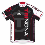Trinona Triathlon: Event Logo Women's SS Jersey - Pearl Izumi 'Elite' Semi FF - Black/White