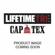 Life Time Tri: 'LT Tri Logo' 1'x1.5' Cowbell - Red