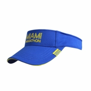 Miami Marathon 2014 Performance Visor - Undated - Royal