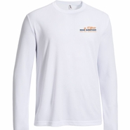 Miami Marathon: '2017 Map' Men's LS Tech Tee - White