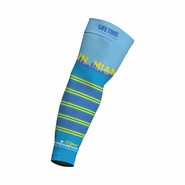 Miami Marathon: 'Event Logo' Sublimated Arm Warmer - Blue