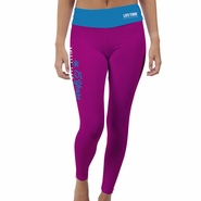 Miami Marathon: 'Event Logo' Women's Yoga Sublimated Pants - Pink