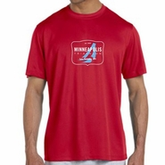 MPLS Tri: 'Map' Men's SS Tech Tee - Cherry Red - by New Balance®