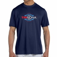 TRInona: 'Map Design' Men's SS Tech Tee - Navy - by New Balance®