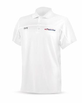 TYR Men's All American Tech Polo