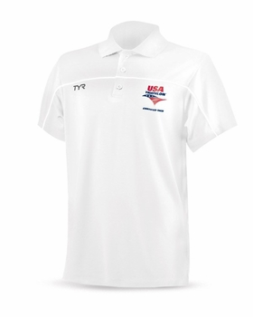 TYR Men's USAT Coach Tech Polo