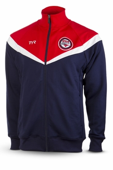 TYR USAT Men's Freestyle Warm Up Jacket