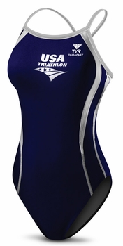 TYR USAT Women's Diamondback Splice Swimsuit