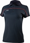 TYR Women's Navy/Red Tech Polo