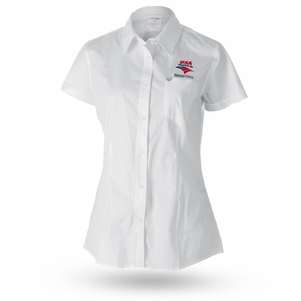 TYR Women's USAT Coach Button Down