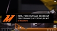 2015+ Ford Mustang EcoBoost Performance Intercooler Features & Benefits Video