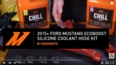 2015+ Ford Mustang EcoBoost Silicone Coolant Hose Kit Install Video