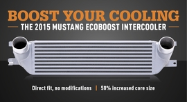 Boost Your Cooling: The 2015 Mustang EcoBoost Intercooler