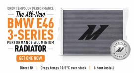 Drop Temps, Up Performance - The New BMW E46 3-Series Performance Radiator