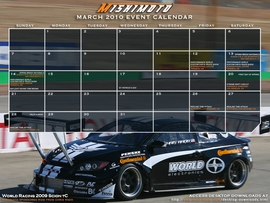 Free March 2010 Calendar Now Available