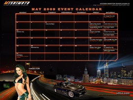 May Free Desktop Calendar Available