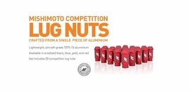Mishimoto Introduces All-New Anodized Lug Nuts!