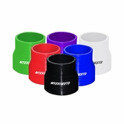 Mishimoto Silicone Transition Coupler - 63.5mm to 76mm, Various Colours