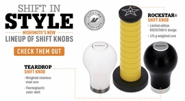 Shift in Style: Mishimoto's New Shift Knobs!