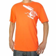 Temperature Gauge T-Shirt, Orange