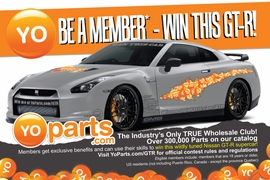 Win a Fully Modified 2009 Nissan GTR