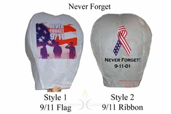 9/11 Flying Sky Luminaries