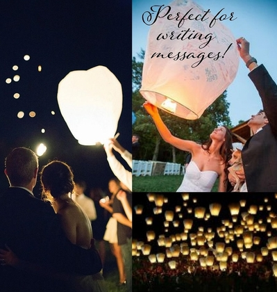 Flying Luminaries (Sky Lanterns)