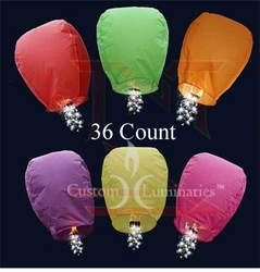 Sparkler Floating Luminaries - 36 Count