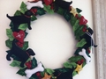 Black Lab Wreath