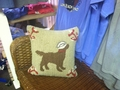 Sailor Chocolate Lab Pillow